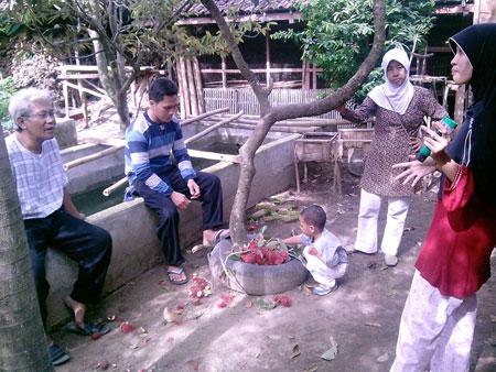 foto Kunjungan teman & tamu foto