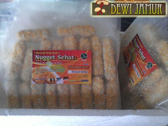 foto Nugget Jamur Dan Sayur foto